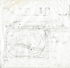 """A sketch plane of a modle railway I never built."""